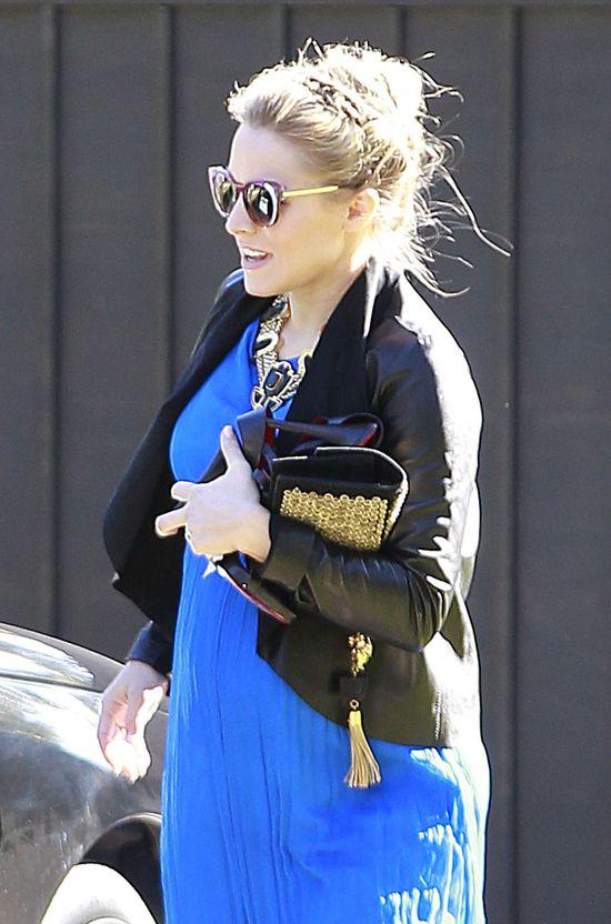 Ciążowa stylizacja Kristen Bell (FOTO)