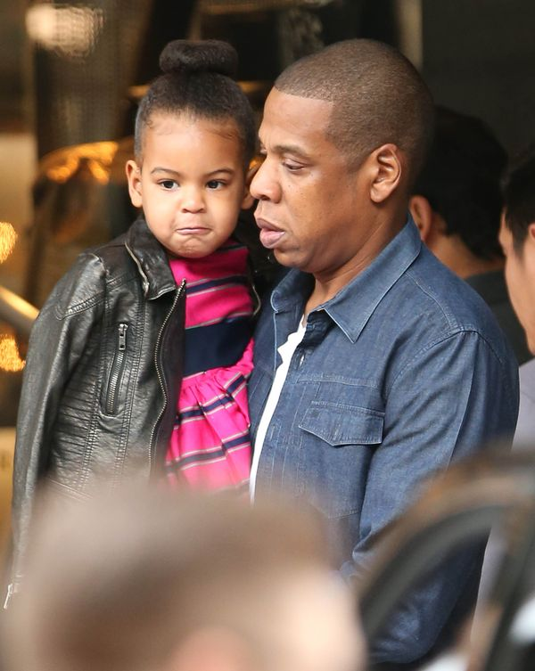 Beyonce zabrała córeczkę, Blue Ivy, na zakupy! (FOTO)