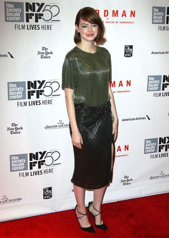 Emma Stone w bobie i zestawie Jason Wu (FOTO)