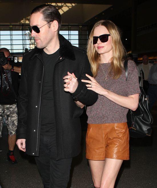 Kate Bosworth w skórzanych szortach (FOTO)