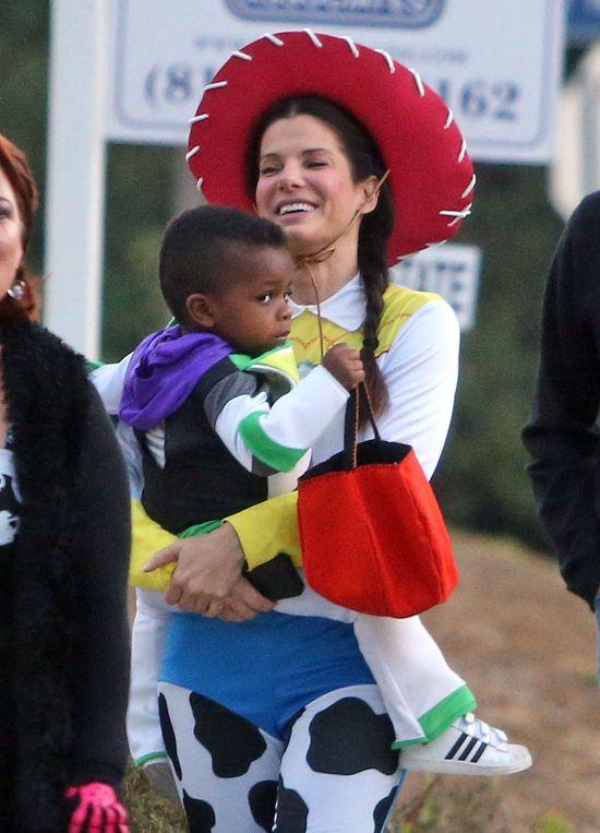 Sandra Bullock świętuje Halloween (FOTO)