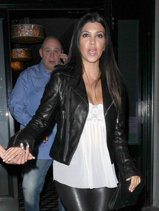 Kourtney Kardashian chuda jak patyk! (FOTO)