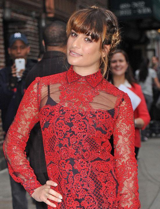 Lea Michele znowu się nie popisała (FOTO)
