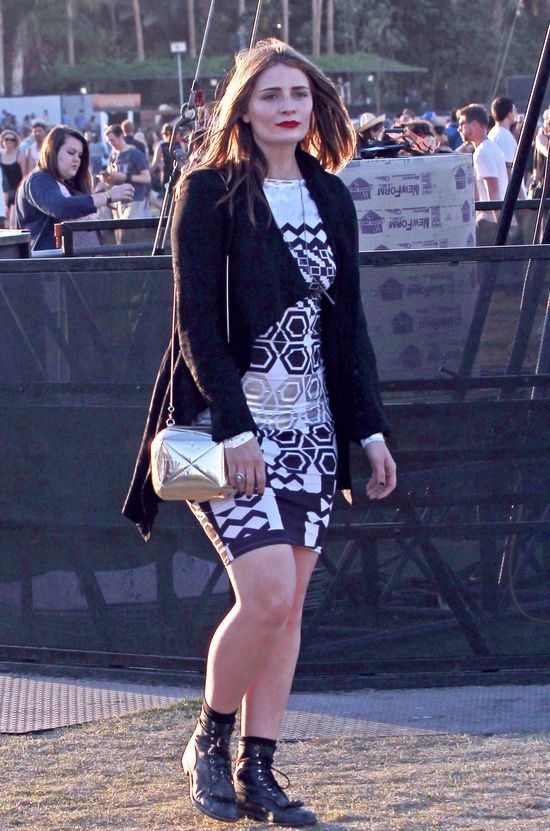 Jessica Alba i Mischa Barton na Coachella Music Festival