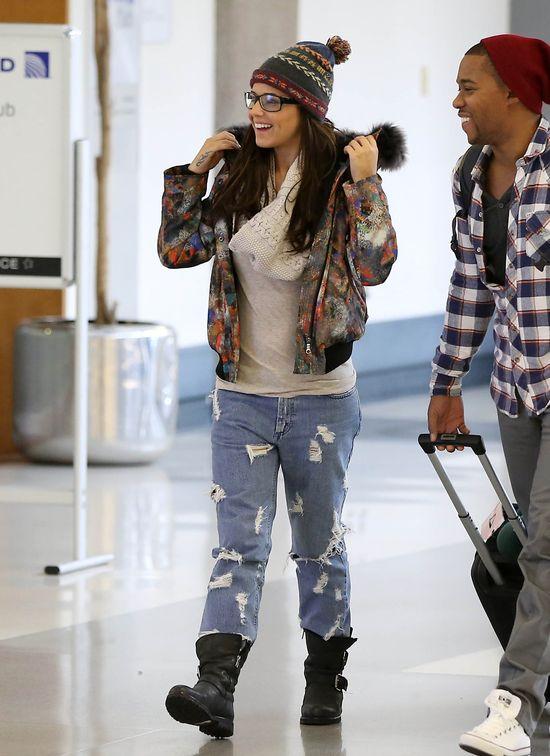 Zimowa stylizacja Cheryl Cole (FOTO)
