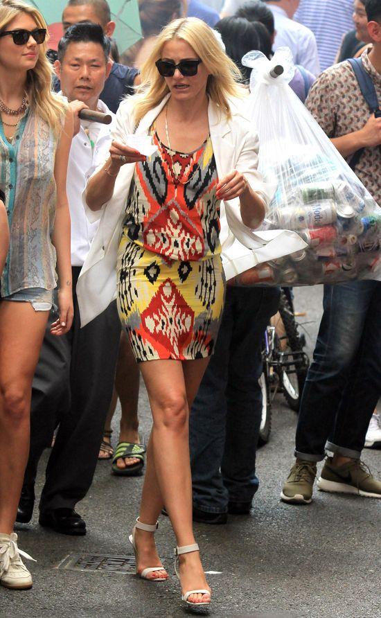 Kate Upton u boku Cameron Diaz na planie The Other Woman