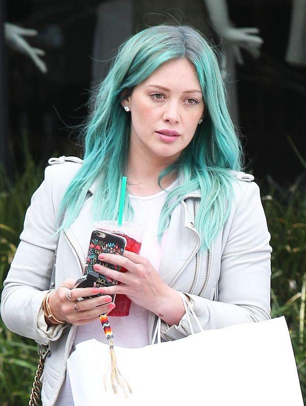 Hilary Duff już nie jest uroczą blondynką! (FOTO)