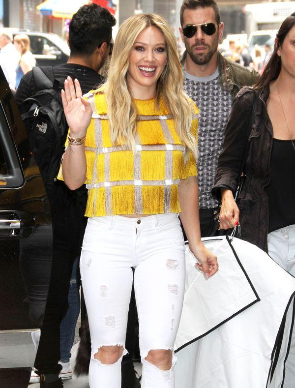Odchudzona Hilary Duff wygląda REWELACYJNIE! (FOTO)