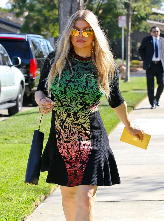 Fergie  w Givenchy i Tom Ford (FOTO)