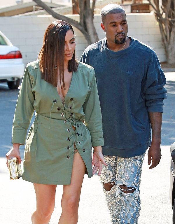 Kim Kardashian i Kanye West pokazali zdjęcie z rodzinnych świąt (FOTO)