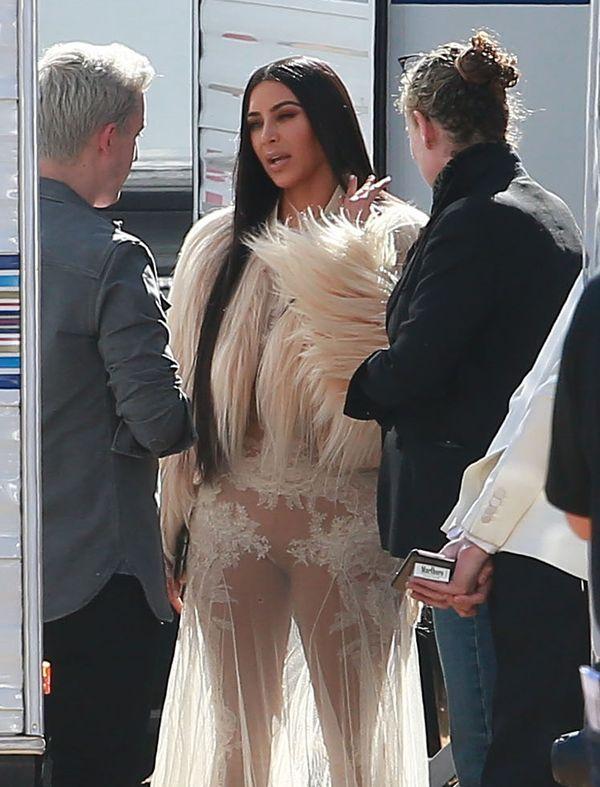 Kim Kardashian znowu pokazała bardzo dużo... (FOTO)