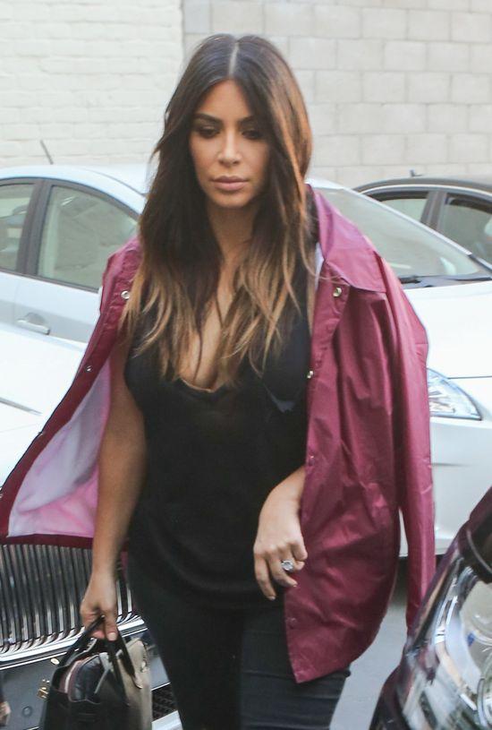 Kim Kardashian schudła 10 kilo w 4 miesiące! (FOTO)