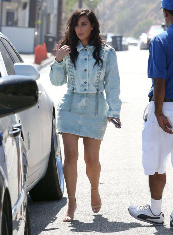 WOW! Kim Kardashian jak za starych, dobrych czasów (FOTO)
