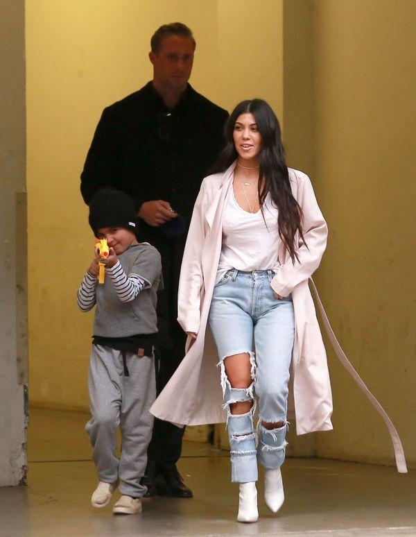 Kourtney Kardashian, czyli prawdziwa mistrzyni stylu casual (FOTO)