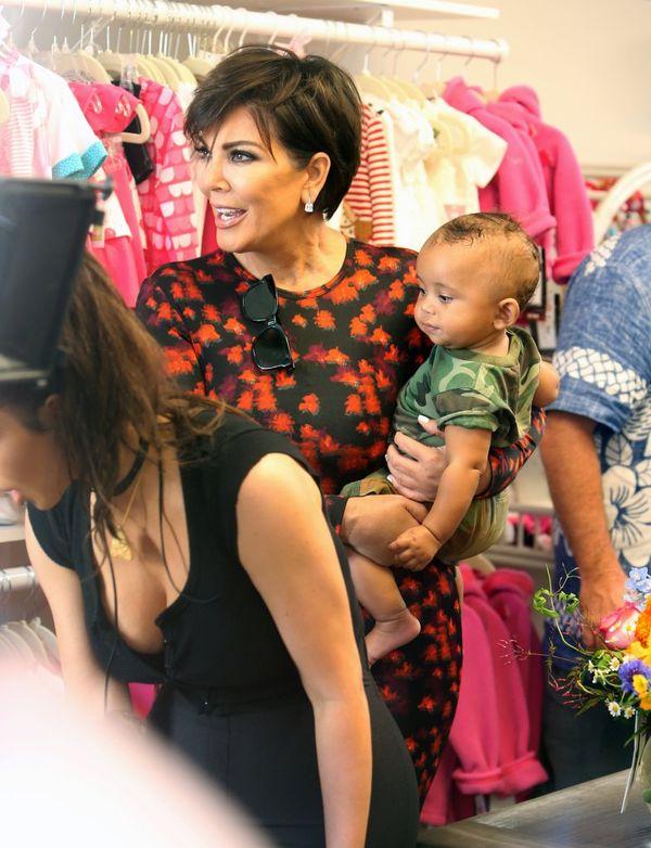 Kim Kardashian w końcu przestała ukrywać swojego synka, Sainta Westa?