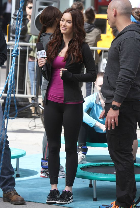 Megan Fox bez szpilek już tak nie zachwyca (FOTO)