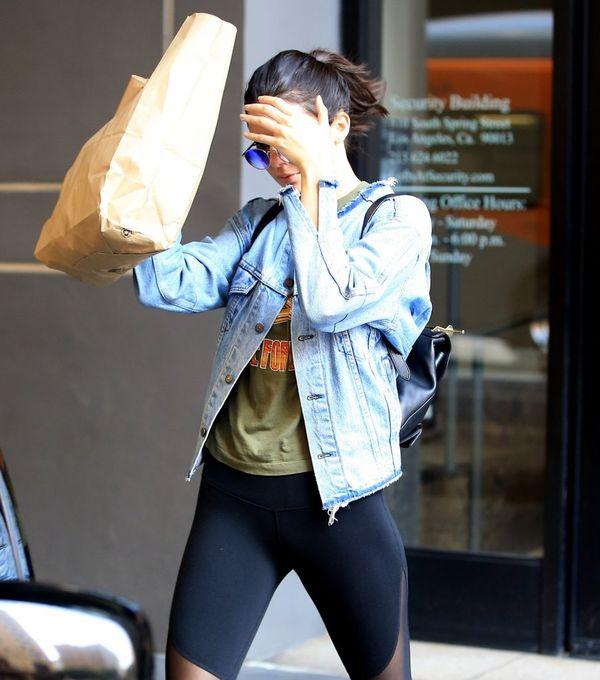 Kendall Jenner ma już dosyć paparazzi chodzących za nią krok w krok?