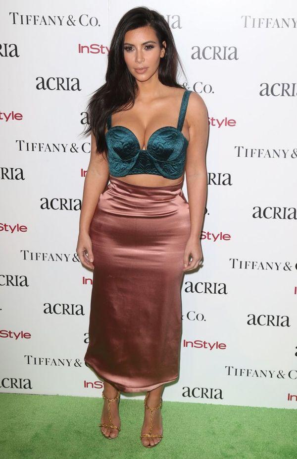 Kim Kardashian zostanie królową spanxów? (FOTO)