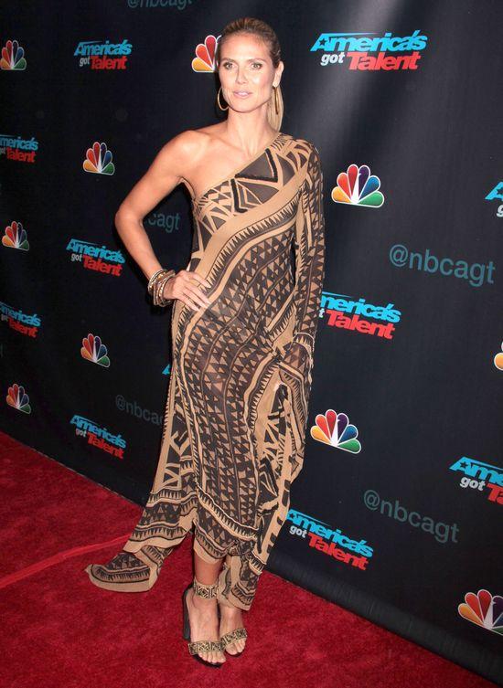 Heidi Klum jak Pocahontas (FOTO)
