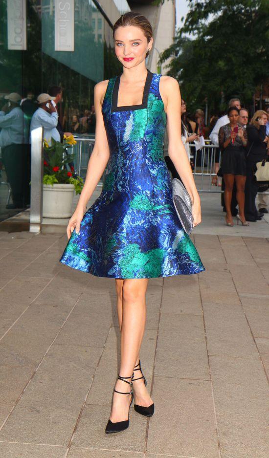 Miranda Kerr w efektownej sukience Proenza Schouler (FOTO)