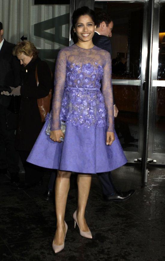 Freida Pinto w bajecznej kreacji Elie Saab Couture (FOTO)