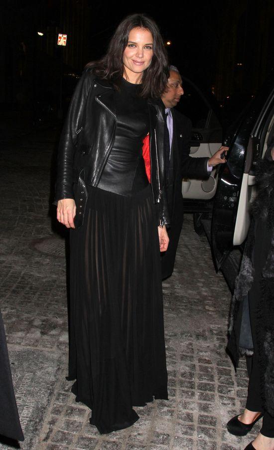 Katie Holmes i Rita Ora na pokazie Donny Karan (FOTO)