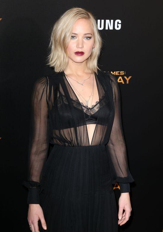 Jennifer Lawrence tym razem nie zachwyciła? (FOTO)