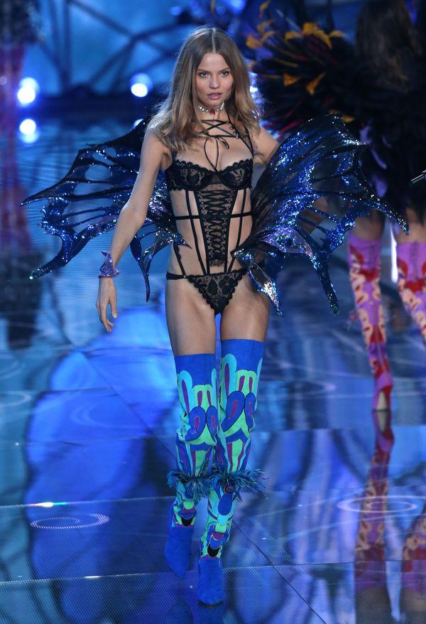 Frąckowiak i Jagaciak na wybiegu Victoria's Secret (FOTO)