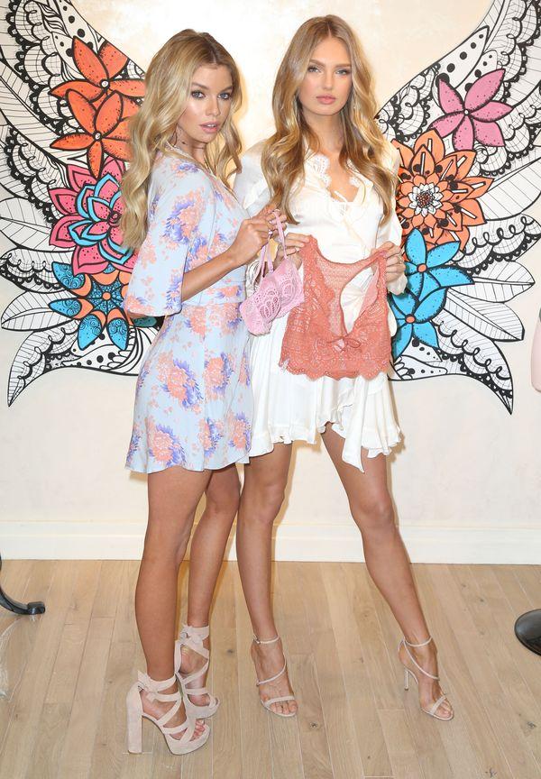 Aniołki Victoria's Secret, Stella Maxwell i Romee Strijd, promują nową kolekcję
