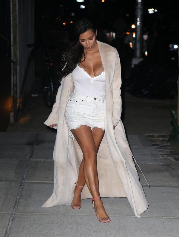 Kim Kardashian ZNOWU to zrobiła! Pokazała się zupełnie nago na Snapchacie...