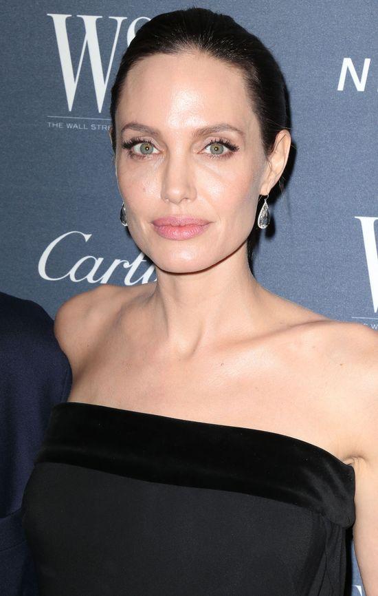 Angelina Jolie w towarzystwie supermodelek (FOTO)