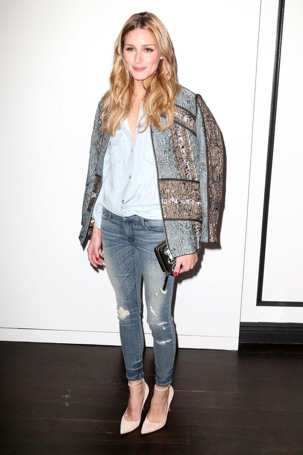 Codzienny styl gwiazd - ubierz się jak Olivia Palermo (FOTO)