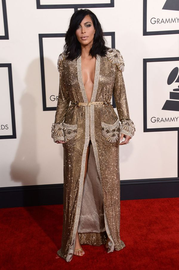Kim Kardashian zdradziła sekret kreacji z wielkimi dekoltami