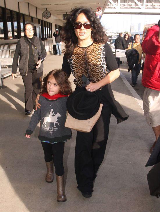 Modne mamy - Salma Hayek i Sarah Jessica Parker