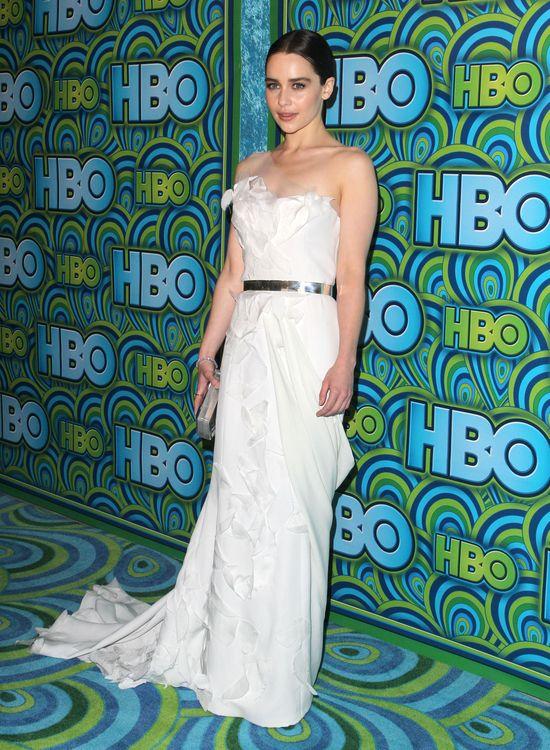 Emilia Clarke w Donna Karan Atelier (FOTO)