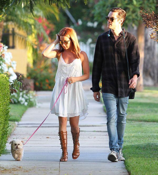 Ashley Tisdale dobrze wie, jaki strój jest najlepszy na upał
