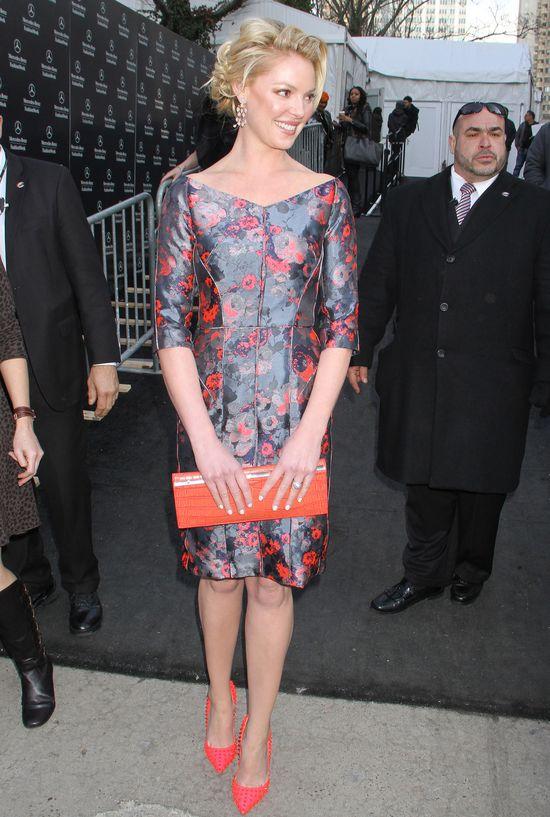 Katherine Heigl w kwiecistej sukience J. Mendel (FOTO)