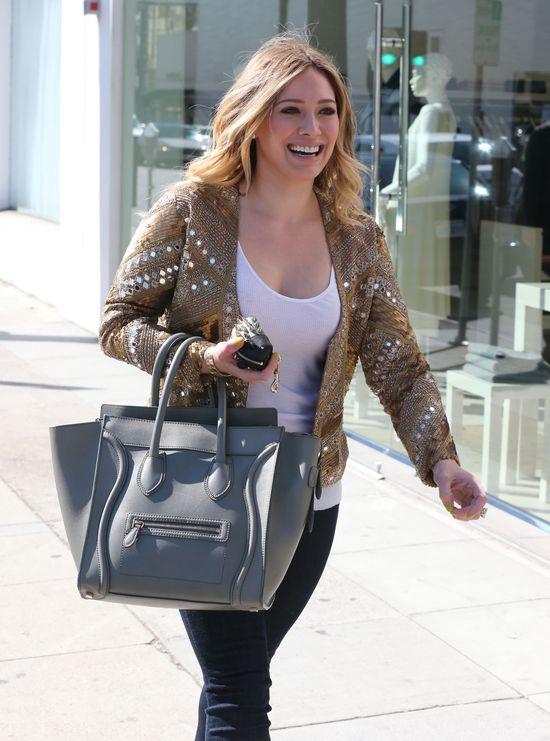 Trzy stylizacje Hilary Duff (FOTO)