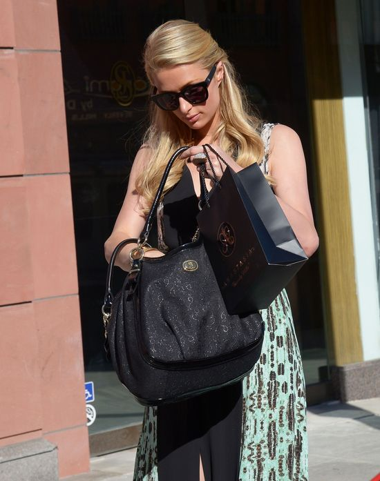 Paris Hilton i jej modne dodatki (FOTO)