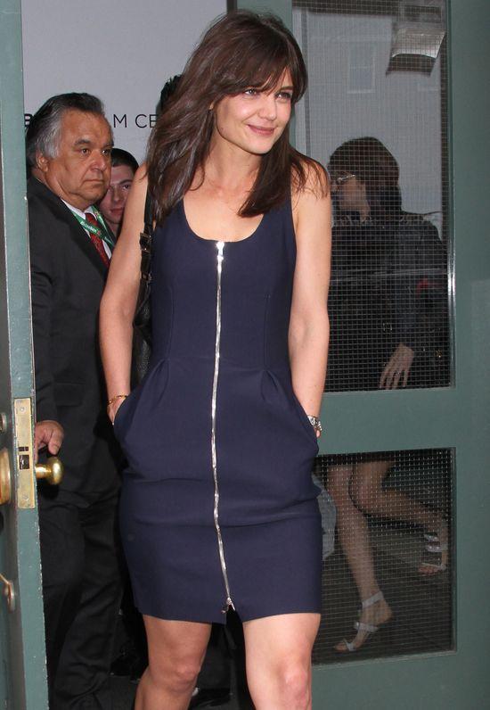 Katie Holmes chciała być elegancka (FOTO)