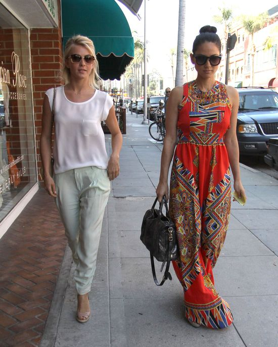 Julianne Hough i Olivia Munn zafudnowały sobie babski dzień