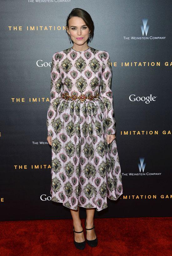 Chuda Keira Knightley w Dolce&Gabbana (FOTO)