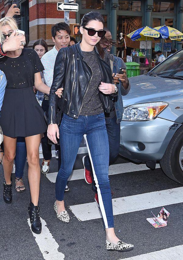 Kendall Jenner - koszmarna vs. bardzo udana stylizacja