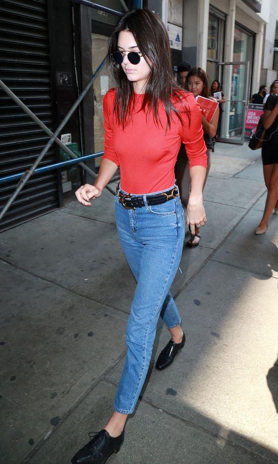 Kendall Jenner uczy jesiennego stylu (FOTO)