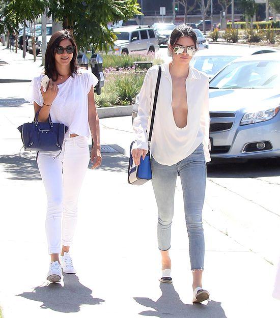 Olbrzymi dekolt Kendall Jenner - przesadziła? (FOTO)