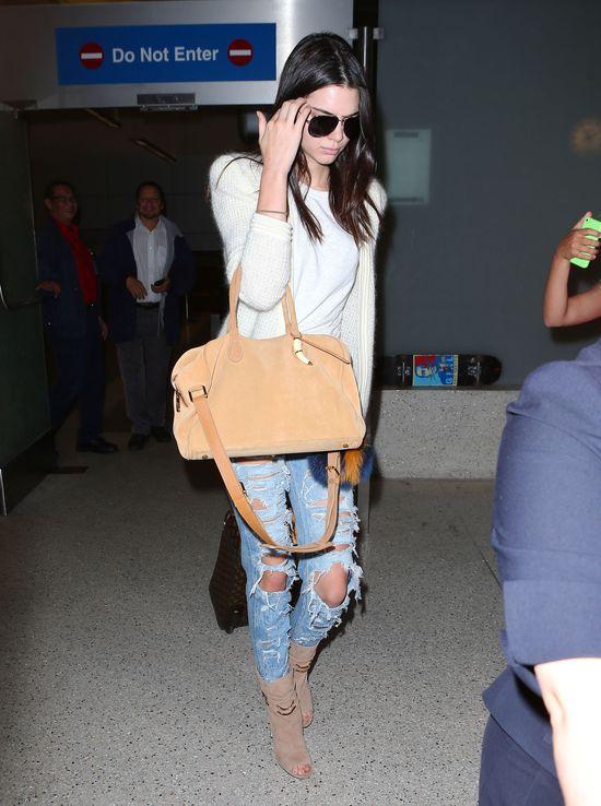 Kendall Jenner od stóp do głów w znanych markach (FOTO)