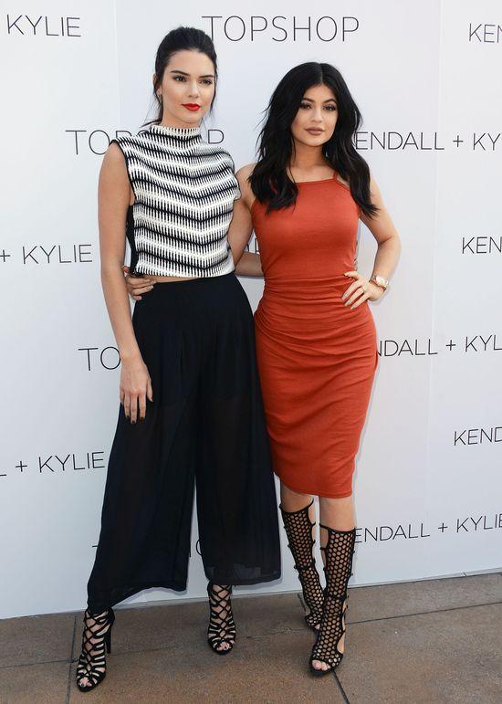 Kendall i Kylie promują swoją kolekcję dla Topshop (FOTO)