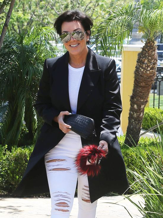Uśmiech od ucha do ucha w wydaniu Kris Jenner (FOTO)