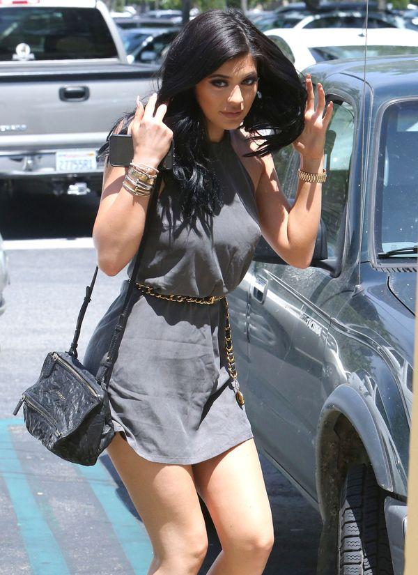 Kylie Jenner o mały włos od wielkiej wpadki (FOTO)