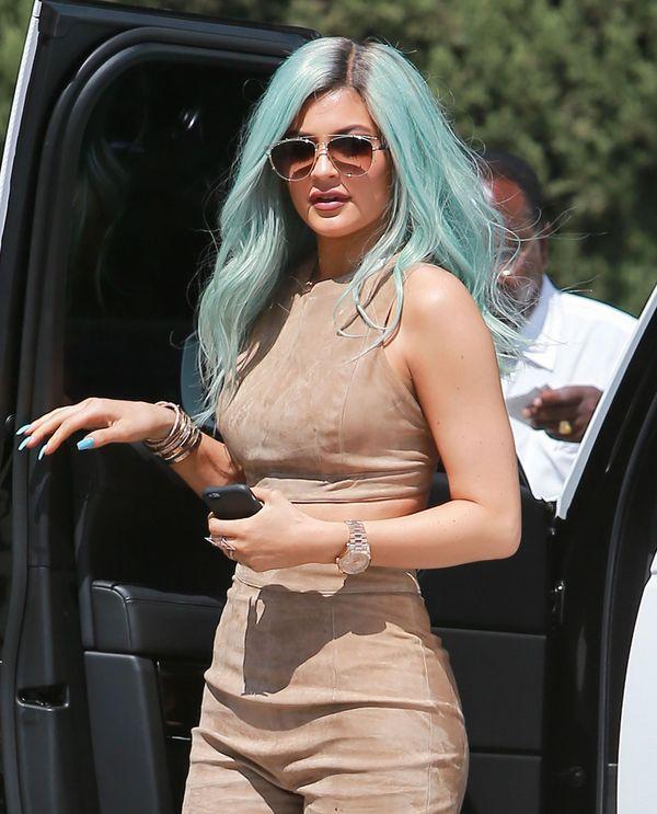 Kylie Jenner pokazała, że ma do siebie duży dystans (INSTA)